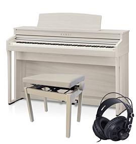 Kawai CA49 Digitalpiano Weiß-Esche Set