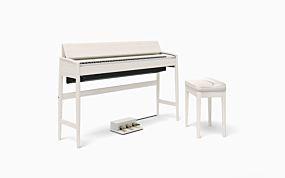 Roland Kiyola KF-10 Digitalpiano Sheer White